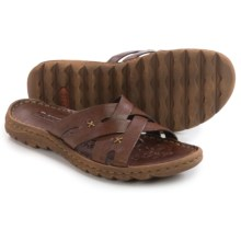Born Skylar Leather Sandals (For Women) in Tierra Brown Full Grain - Closeouts