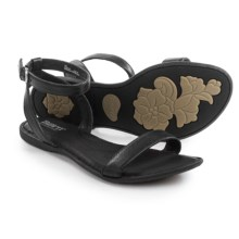 Born Stephane Sandals - Leather (For Women) in Black Full Grain - Closeouts