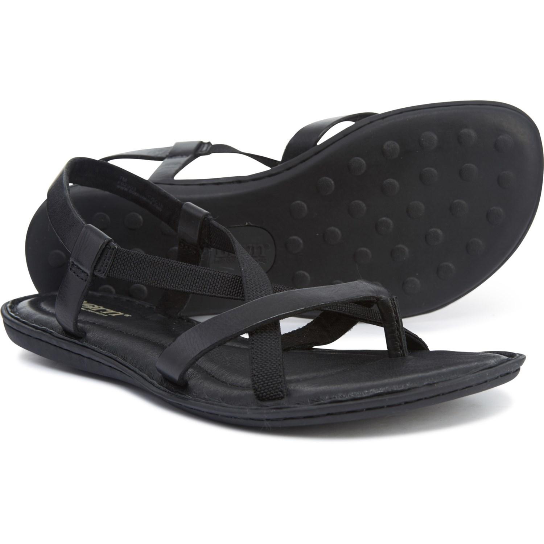 bc1247fc239 Born Taj Flat Sandals - Leather (For Women)