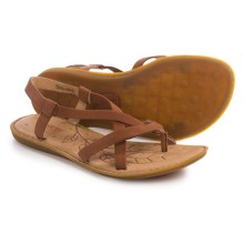 Born Taj Strappy Sandals - Leather (For Women) in Whiskey Full Grain - Closeouts