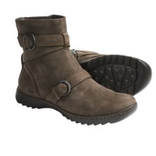 Born Tembi Boots - Leather (For Women) in Taupe Nubuck - Closeouts