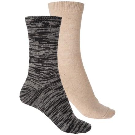 93d06f66ee5dc Born Wool-Blend Boot Socks - 2-Pack, Crew (For Women)