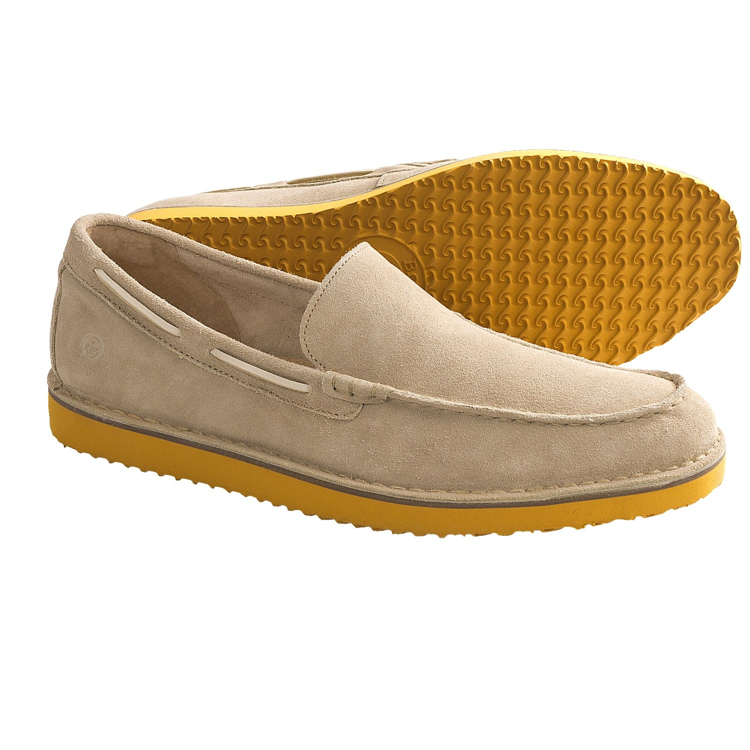 Born Zander Shoes - Suede, Slip-Ons (For Men) in Desert Suede