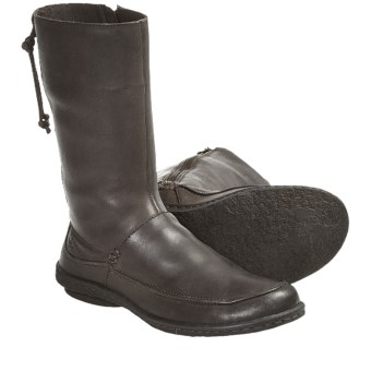 Born Zuki Leather Boots (For Women) in Dark Brown