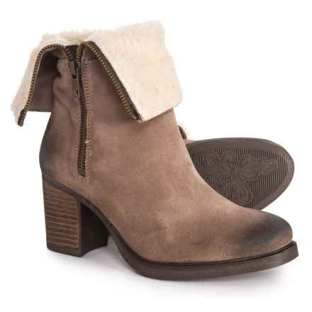 Bos. & Co. Made in Portugal Beverlee Boots - Waterproof (For Women) in Taupe - Closeouts