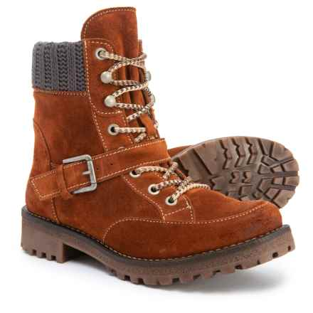 Bos. & Co. Made in Portugal Colony Boots - Waterproof (For Women) in Rust/Grey