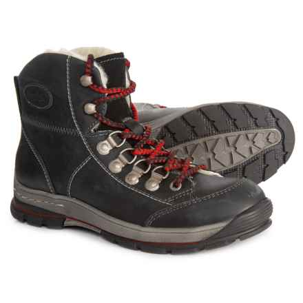 Bos. & Co. Made in Portugal Garry Boots - Waterproof, Merino Wool (For Women) in Black/Black - Closeouts