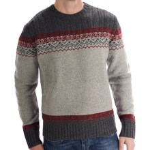 Boston Traders Fair Isle Sweater (For Men) in Grey - Closeouts