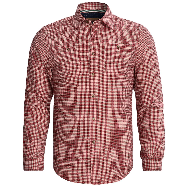 Boston Traders Plaid Shirt Flannel Long Sleeve For Men