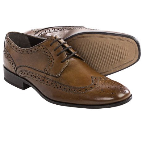Bostonian Alito Oxford Shoes Leather, Wingtip (For Men)