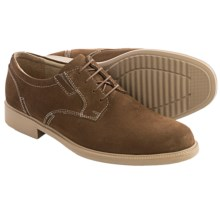 Bostonian Bardwell Oxford Shoes - Plain Toe (For Men) in Tan Suede - Closeouts