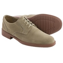 Bostonian Bardwell Oxford Shoes - Plain Toe (For Men) in Taupe Suede - Closeouts