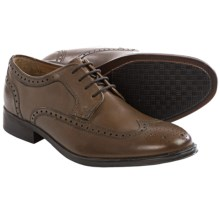 Bostonian Greer Wingtip Oxford Shoes - Leather (For Men) in Brown - Closeouts