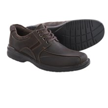 Bostonian Koade Key Lace Shoes - Leather (For Men) in Chocolate - Closeouts