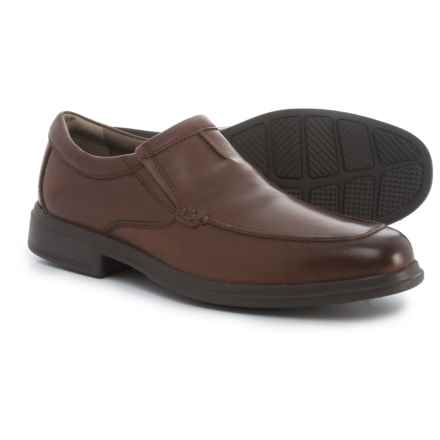 Bostonian Tifton Step Loafers - Leather (For Men) in Brown Leather - Closeouts