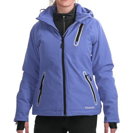 Boulder Gear Amor Jacket - Insulated (For Women) in Mystic Green/Silver/Black