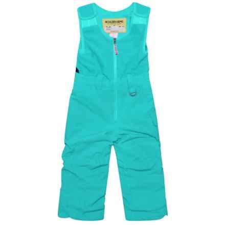 Boulder Gear Bailey Bib Snow Pants - Waterproof, Insulated (For Little Girls) in Blue Jewel - Closeouts