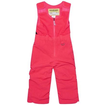 5aa643620 Boulder Gear Bailey Bib Snow Pants - Waterproof, Insulated (For Little Girls)  in