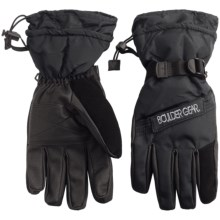 Boulder Gear Board Gloves - Waterproof, Insulated (For Men) in Black - Closeouts