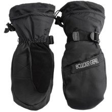 Boulder Gear Board Snow Mittens - Waterproof, Insulated (For Men) in Black - Closeouts