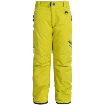 Boulder Gear Bolt Cargo Ski Pants - Insulated (For Boys) in Avocado - Closeouts