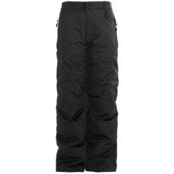 Boulder Gear Bolt Cargo Ski Pants - Insulated (For Boys) in Black