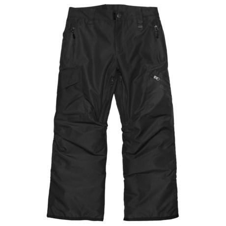 Boulder Gear Bolt Cargo Ski Pants - Insulated (For Boys) in Black