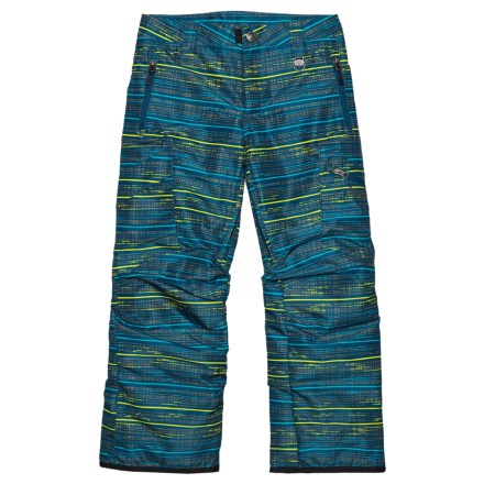 8ebf3172 Boulder Gear Bolt Cargo Ski Pants - Insulated (For Boys) in Blue Dapper  Print