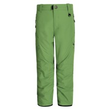 Boulder Gear Bolt Cargo Ski Pants - Insulated (For Boys) in Cactus - Closeouts