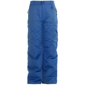 Boulder Gear Bolt Cargo Ski Pants - Insulated (For Boys) in Ocean Blue