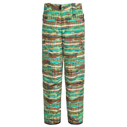 Boulder Gear Bolt Cargo Ski Pants - Insulated (For Boys) in Trop Print - Closeouts