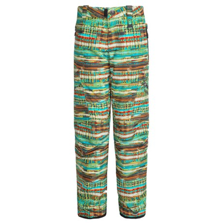 Boulder Gear Bolt Cargo Ski Pants - Insulated (For Boys) in Trop Print