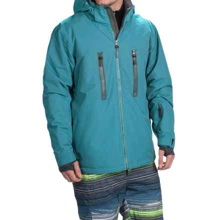 Boulder Gear Bond Ski Jacket - Waterproof, Insulated (For Men) in Blue Riviera/Gray Shadow - Closeouts