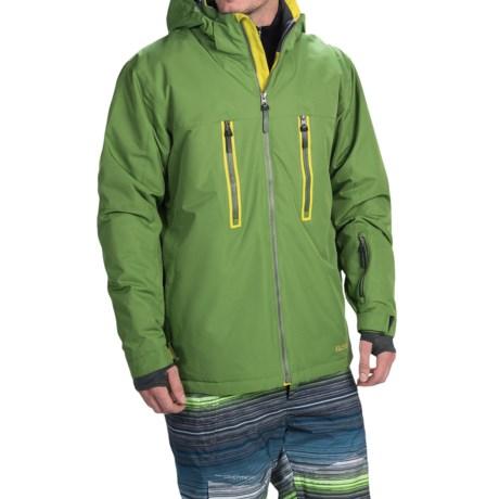 Boulder Gear Bond Ski Jacket - Waterproof, Insulated (For Men) in Cactus/Avocado