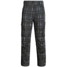 Boulder Gear Boulder Cargo Pants - Insulated (For Men) in Black Plaid - Closeouts