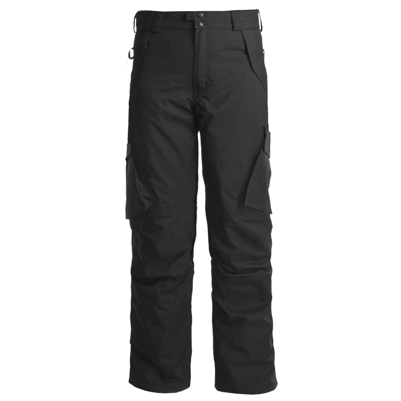 Boulder Gear Boulder Cargo Pants - Insulated (For Men) in Black ... 0ee7040a9