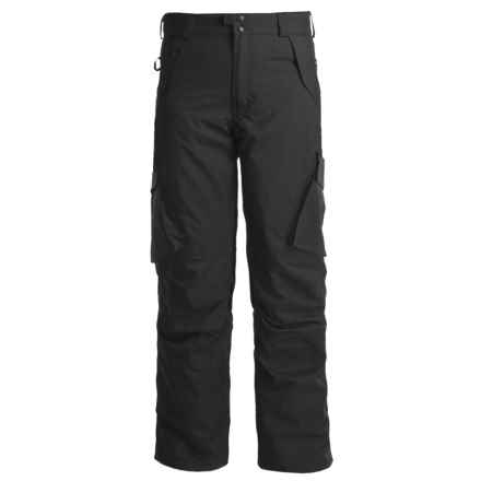 Boulder Gear Boulder Cargo Pants - Insulated (For Men) in Black - Closeouts