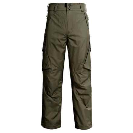 Boulder Gear Boulder Cargo Pants - Insulated (For Men) in Canteen - Closeouts