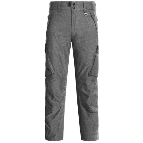 Boulder Gear Boulder Cargo Pants - Insulated (For Men) in Heather Grey Melange