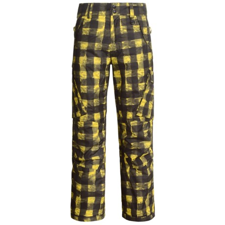 Boulder Gear Boulder Cargo Pants - Insulated (For Men) in Maize Buffalo