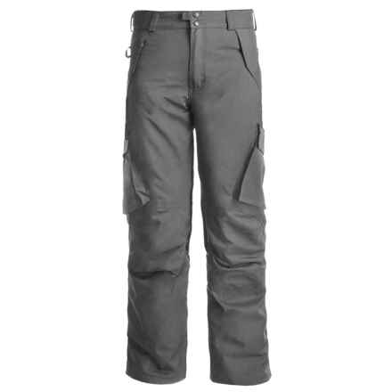 Boulder Gear Boulder Cargo Pants - Insulated (For Men) in Steel - Closeouts