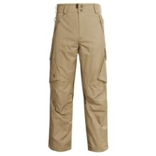 Boulder Gear Boulder Cargo Pants - Insulated (For Men) in Tan Earth - Closeouts