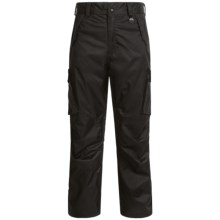 Boulder Gear Boulder Cargo Ski Pants - Waterproof, Insulated (For Men) in Black - Closeouts