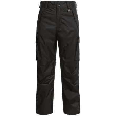 Boulder Gear Boulder Cargo Ski Pants - Waterproof, Insulated (For Men) in Black - Closeouts