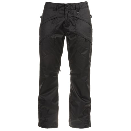Boulder Gear Boulder Cargo Ski Pants - Waterproof, Insulated (For Women) in Black