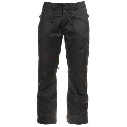 Boulder Gear Cargo Ski Pants - Waterproof, Insulated (For Women) in Black - Closeouts