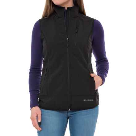 Boulder Gear Cascade Soft Shell Vest (For Women) in Black - Closeouts