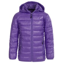 Boulder Gear D-Lite Puffer Jacket - Insulated (For Big Girls) in Mystic Purple - Closeouts