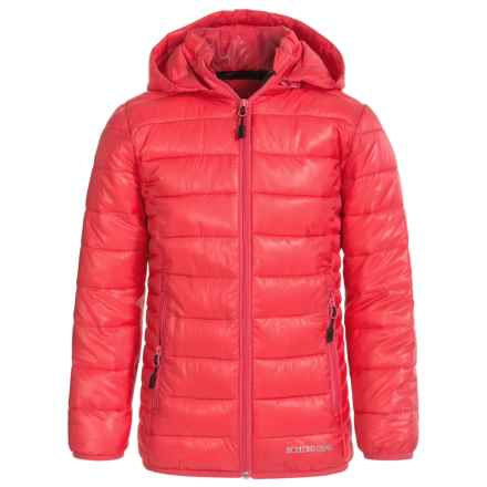 Boulder Gear D-Lite Puffer Jacket - Insulated (For Big Girls) in Paradise Pink - Closeouts