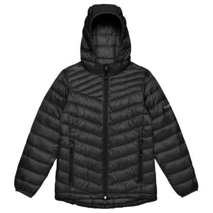 Boulder Gear D-Lite Puffer Jacket - Insulated (For Girls) in Black - Closeouts